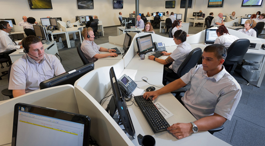 call centre selby