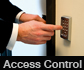 Access control systems can simply be via a keypad with a lock release on a door or can connect remotely to a central monitoring point. Whatever your requirements SWAT can help!